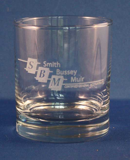 SBM whisky glass
